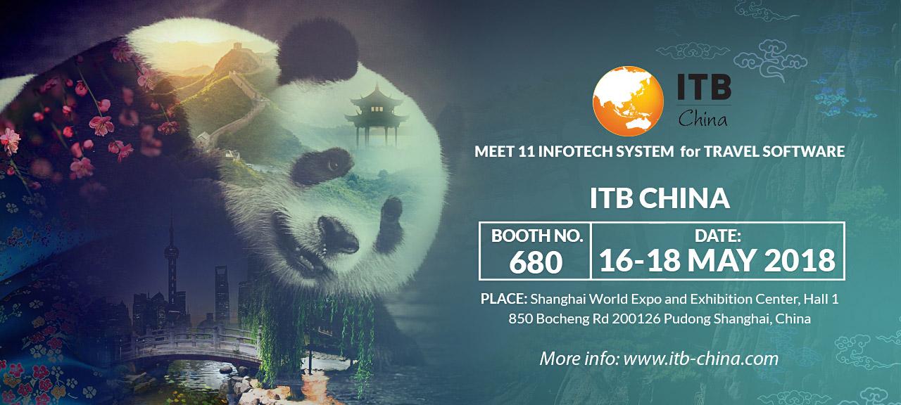 Meet 11-Infotech System at ITB China 2018